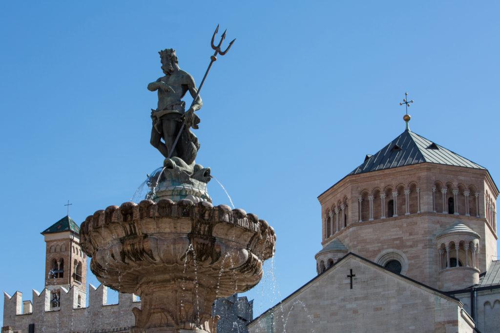Fontana del Nettuno - Piazza Duomo - Trento