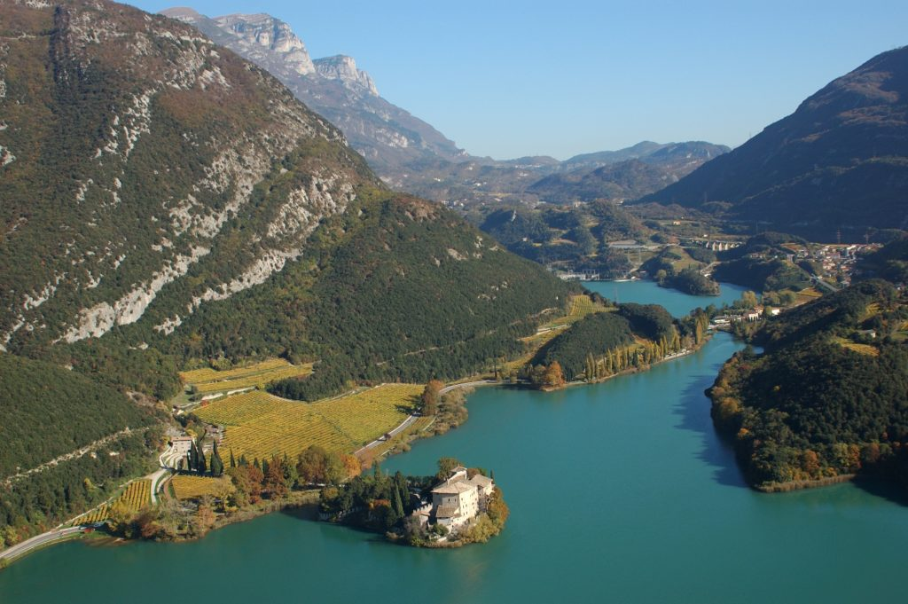 Valle dei Laghi landscapes
